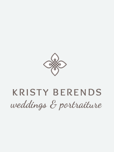 Grand Rapids Wedding Photography – Kristy Berends Photography logo